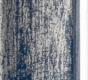 Moldura azul riscada com friso prata-1005-2