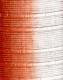 Moldura laranja e branca de 4 cm-1024-2