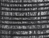 Moldura Étnica Preta e Prata de 2.5 cm-1093-2