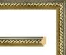 Moldura dourada cordão-169-3