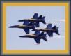 Moldura azul de 2 cm-268-4