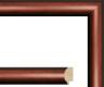 Moldura Castanha de 2 tons de 3 cm-Molduras35-3