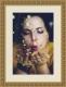 Moldura Trabalhada Dourada de 5 cm-Molduras56-4