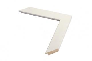 Moldura Branca de 3 cm
