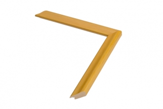 Moldura amarela de 2 cm