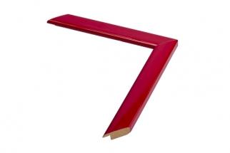Moldura vermelha de 2.4 cm