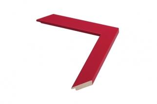 Moldura Vermelha de 3cm