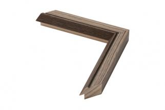 Moldura folheada de madeira carvalho 2