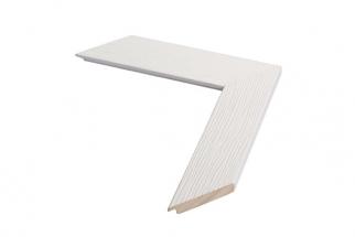 Moldura Branca de 4.3 cm