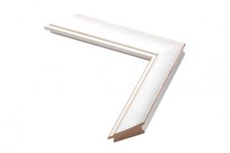 Moldura Branca de 3.5 cm