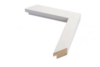 Moldura Branca Cubo de 3.1 cm